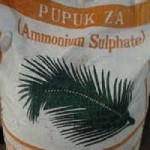 Distributor Pupuk ZA di Medan