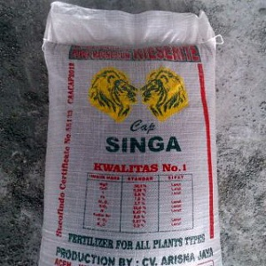 Pupuk Kieserite (Magnesium) Cap Singa