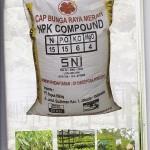 Jual Pupuk NPK Compound 55TE Cap Bunga Raya Merah
