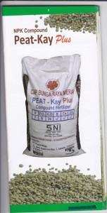 Pupuk NPK Peat-Kay Plus