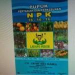 Distributor Pupuk NPK 16-16-16 Ladang Subur