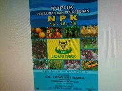 NPK 16-16-16 LADANG SUBUR