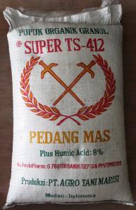 Pupuk Organik Super TS-412 Cap Pedang Mas