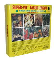 Super-Vit Tabur Lengkap